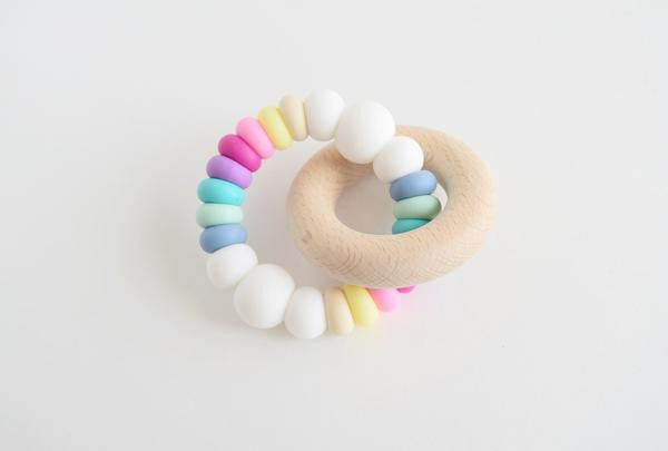 *Grace & Parker Rainbow Teether
