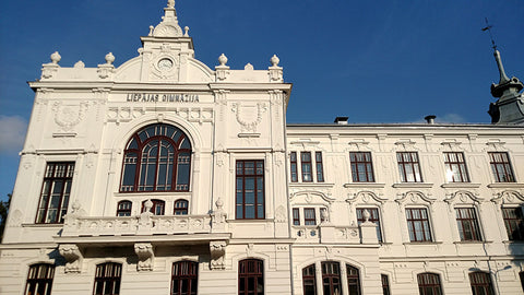 Gymnasium building at Liepaja