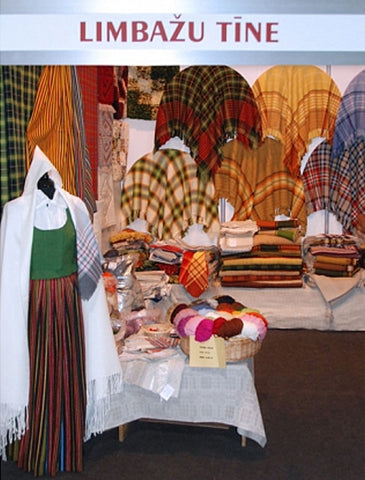 Products of Limbaži wool factory