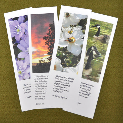 Bookmarks, Set  of 4 - Set 1