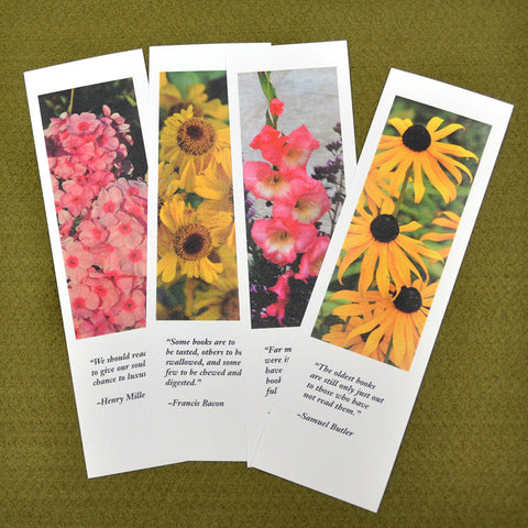 Bookmarks, Set  of 4 - Set 3