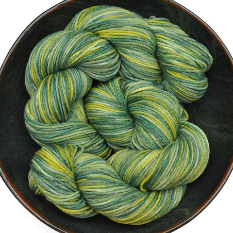 Superwash Merino sock yarn, DK weight, 400 yards - PERCY