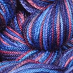 Superwash Merino sock yarn - closeup