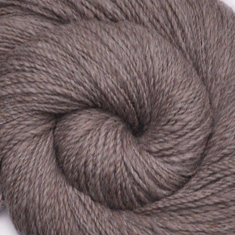 Handspun Alpaca / Merino wool yarn, DK weight, 425 yards - Foggy Moors 1