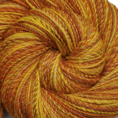 Handspun Silk / BFL yarn, fingering weight