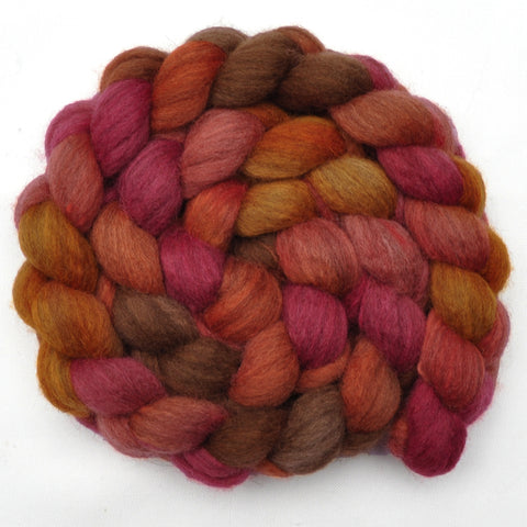 Oatmeal BFL Wool Roving - Apple of My Eye 1 - 4.1 ounces