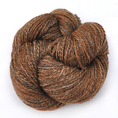 Handspun silk / Merino wool yarn, fine sport weight