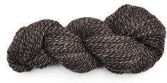 Handspun yarn - natural color Shetland wool, worsted weight - skein