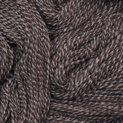 Handspun yarn - natural color Shetland wool, worsted weight - closeup