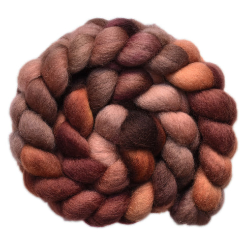 BFL Wool Roving - Muskrat 2 - 3.9 ounces
