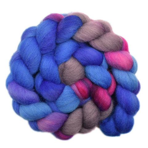 Cheviot Wool Roving - Looking Ahead 2 - 4.4 ounces