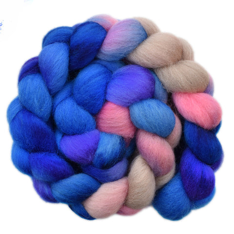 Cheviot Wool Roving - Emotional 1- 4.1 ounces