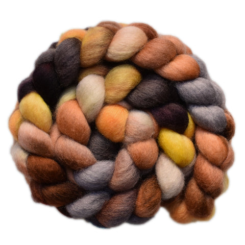 BFL Wool Roving - Getting Away 1 - 3.9 ounces