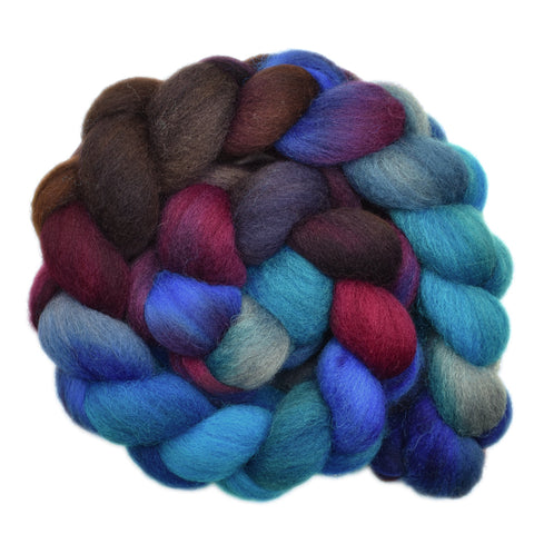 Cheviot Wool Roving - A Little Uncertain 1 - 4.0 ounces