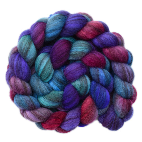 BFL Humbug Wool Roving - Duty Bound 1 - 4.1 ounces