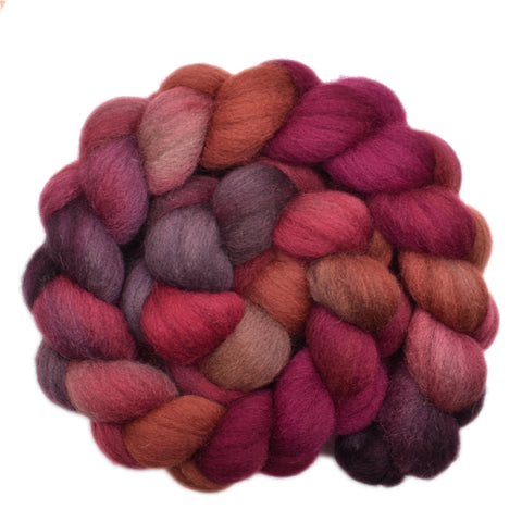 Cheviot Wool Roving - Sturdy Cloak 2 - 4.2 ounces