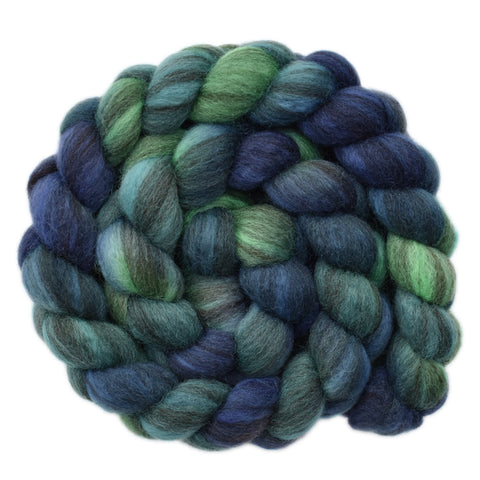 BFL Humbug Wool Roving - Aquaman 1 - 4.0 ounces