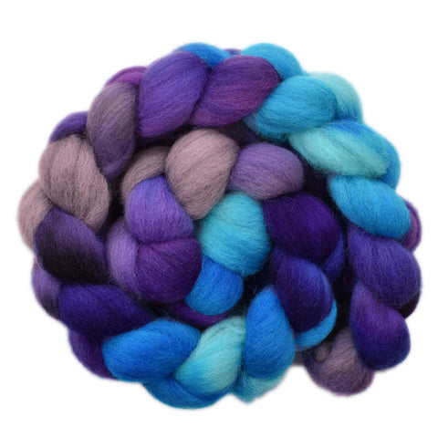 Cheviot Wool Roving - Crossing the Waves 1- 4.0 ounces