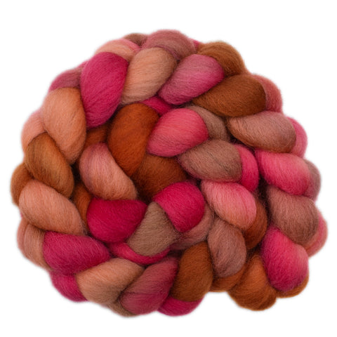Cheviot Wool Roving - Bouncy 1 - 4.2 ounces