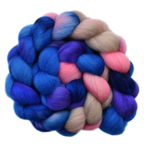 Cheviot Wool Roving - Emotional 2- 4.1 ounces