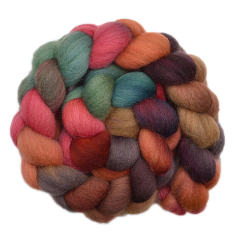 Cheviot Wool Roving - Building Site 1 - 4.1 ounces