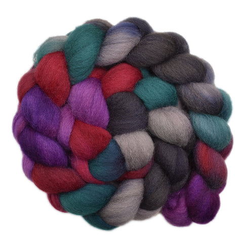 Cheviot Wool Roving - Moving Forward 2- 4.3 ounces