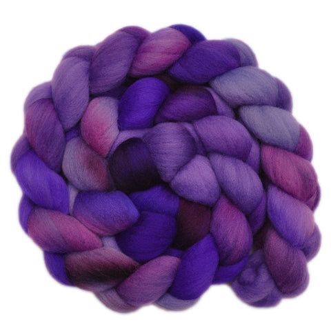 Falkland Merino Wool Roving - Whooshing By 1 - 4.1 ounces