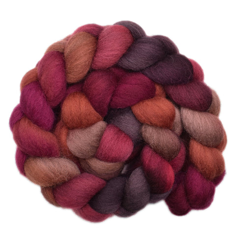 Cheviot Wool Roving - Sturdy Cloak 1 - 4.2 ounces