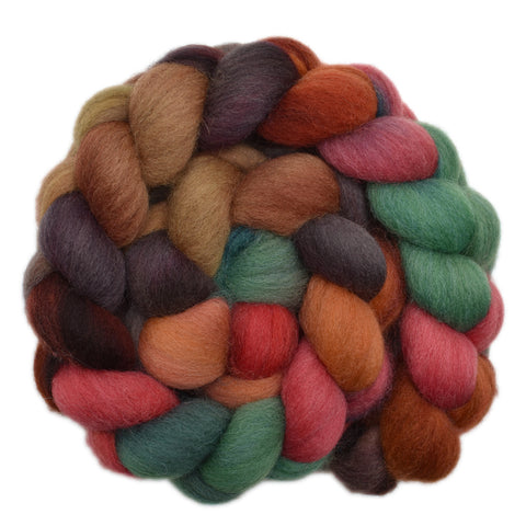 Cheviot Wool Roving - Building Site 2 - 4.2 ounces
