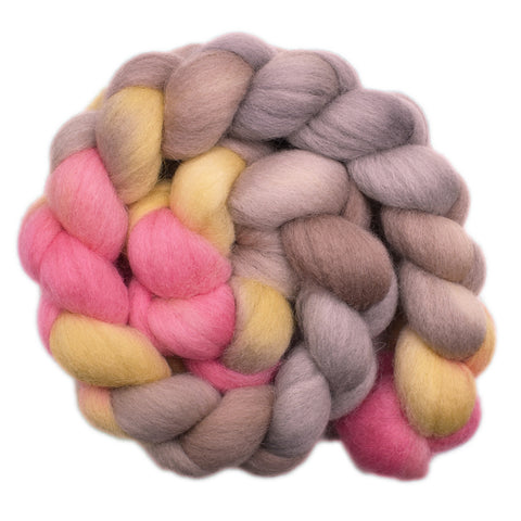 Cheviot Wool Roving - Hesitant Touch 2 - 4.2 ounces