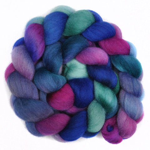 Corriedale Cross Wool Roving - Doubtful Premise 1 - 4.3 ounces