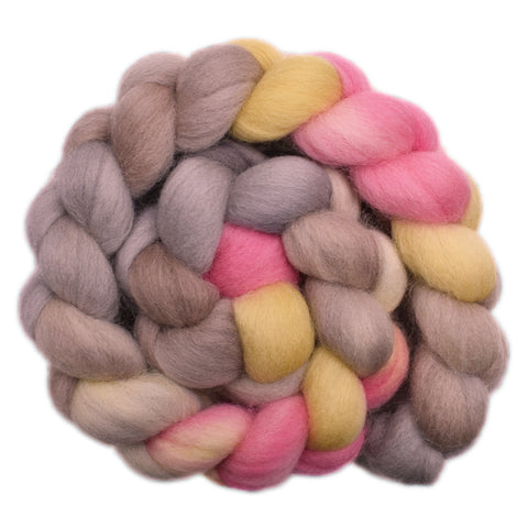 Cheviot Wool Roving - Hesitant Touch 1 - 4.3 ounces