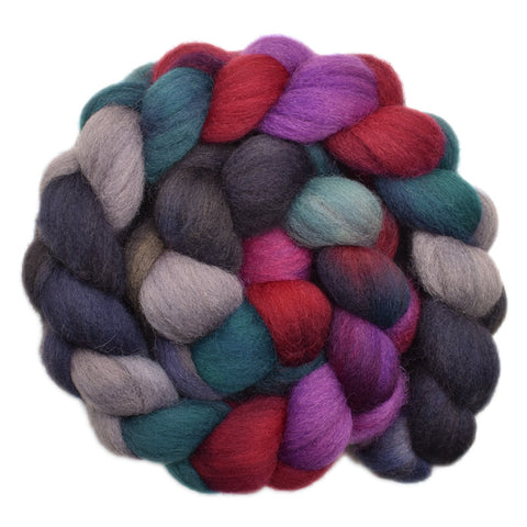 Cheviot Wool Roving - Moving Forward 1- 4.3 ounces
