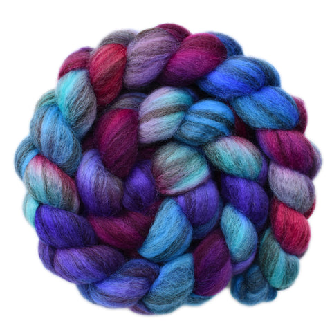 BFL Humbug Wool Roving - Duty Bound 2 - 4.1 ounces