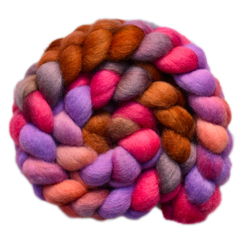 BFL Wool Roving - Quite Confused 2 - 4.0 ounces