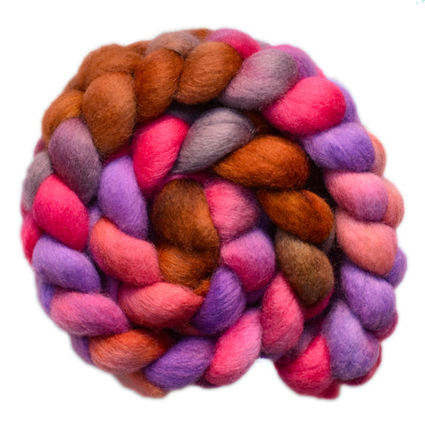 BFL Wool Roving - Quite Confused 1 - 4.0 ounces