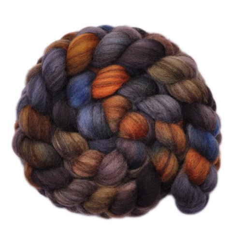BFL Humbug Wool Roving - Waylay - 3.8 ounces