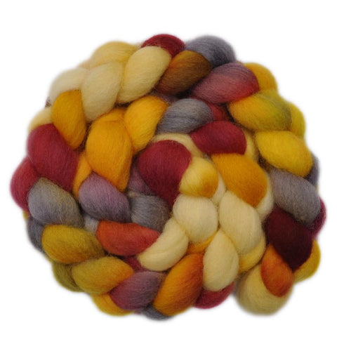 Cheviot Wool Roving - Big Laugh 1 - 4.0 ounces