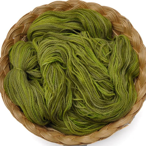 Peruvian Highland Wool Yarn, Fingering Weight, 440 yards - Green