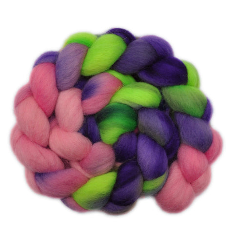 Corriedale Cross Wool Roving - Contagious Enthusiasm 1 - 4.1 ounces