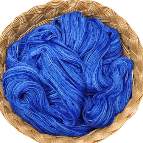 Peruvian Highland Wool Yarn, Fingering Weight, 440 yards - Blue