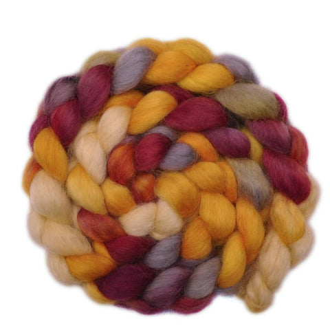 Wensleydale Wool Roving - The Last Straw - 4.0 ounces