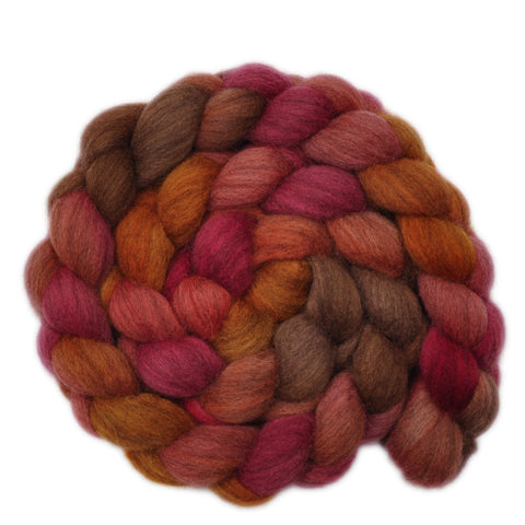 Oatmeal BFL Wool Roving - Apple of My Eye 2 - 4.0 ounces