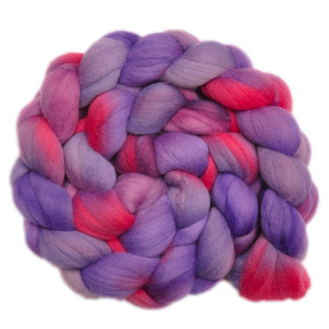 Merino Wool Roving, 19 micron - Flying Whispers 1 - 4.2 ounces