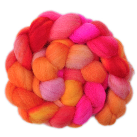 Corriedale Cross Wool Roving - Bundle of Joy 1 - 4.2 ounces