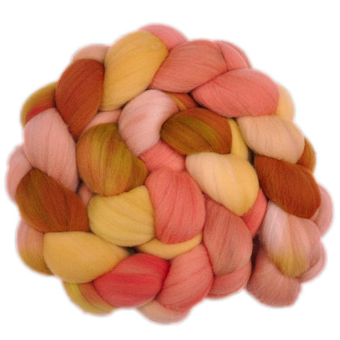 Rambouillet Wool Roving - Getting Sunburned 1 - 4.1 ounces