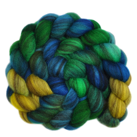 BFL Humbug Wool Roving - Sweet Simplicity 1 - 4.0 ounces