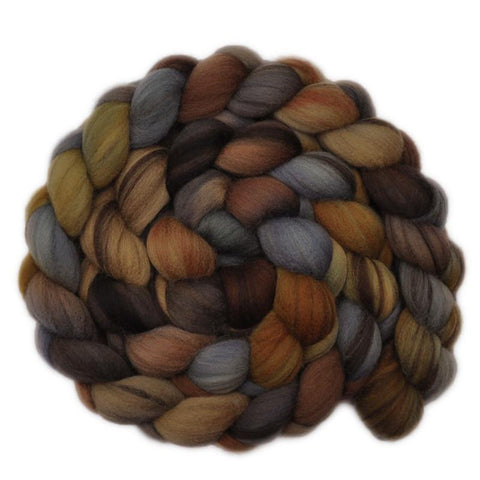 Merino Wool Roving 21.5 micron - An Axe to Grind - 4.2 ounces
