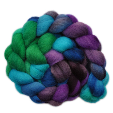 Polwarth Wool Roving - Fantasy Garden 1 - 4.0 ounces
