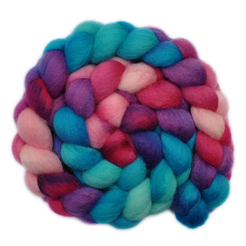 BFL Wool Roving - Happy Day - 4.1 ounces